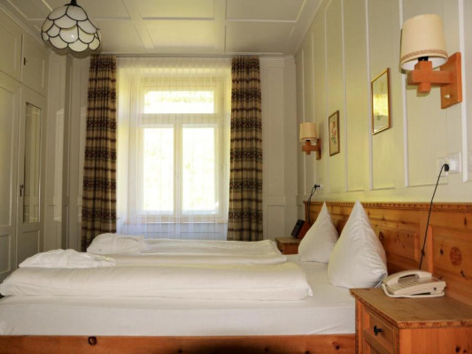 Schatzalp Snow & Mountain Resort double room mountain 1