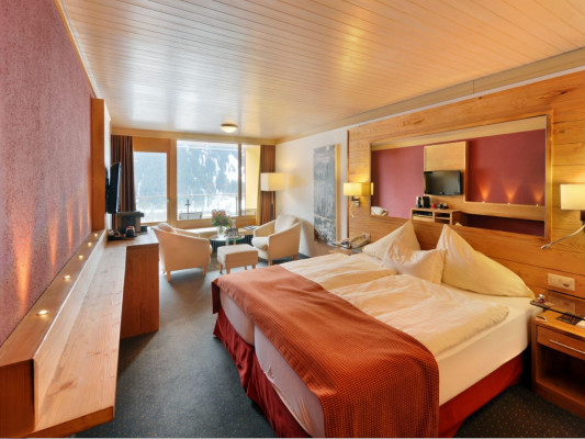 Eiger Selfness Hotel Double room Lifestyle View 0