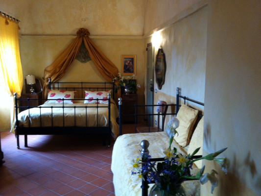 Castello di Frassinello Double room Superior 2
