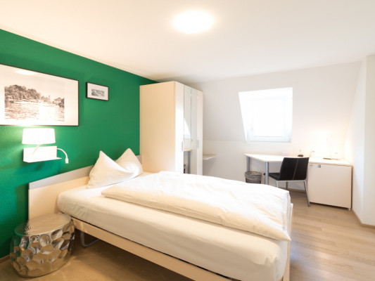 Hotel Zugertor Singel room 8
