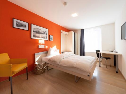 Hotel Zugertor Singel room 6
