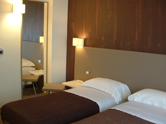Toscana Hotel & Restaurant Double Room with 2 Beds 0