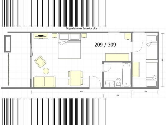 Badehotel Salina Maris - Wellness & Vintage Family apartment (1-2 adults, 1-3 children) 4