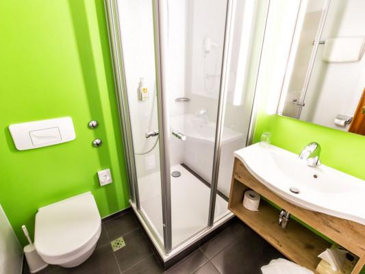 Hotel Hirsch Singel room comfort 1