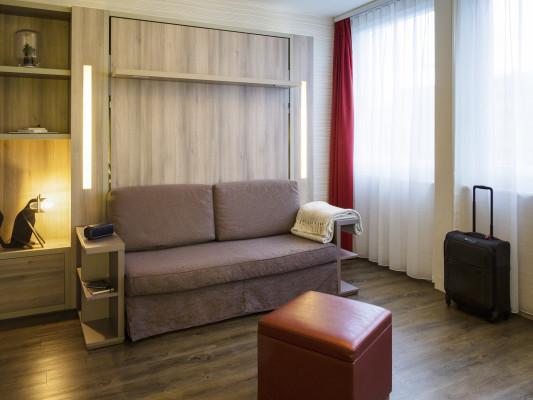 Adagio Basel City Aparthotel Monolocale con colazione per un massimo di 2 persone e un posto auto gratuito 4