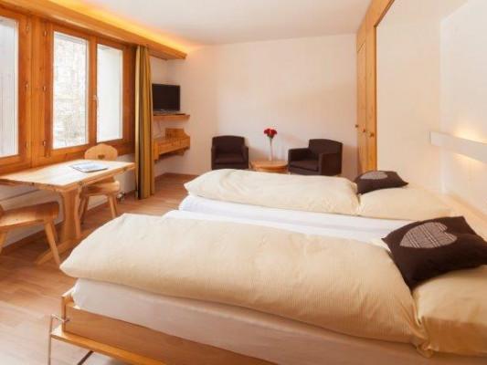 Chesa Surlej Hotel Standard Double Room 2