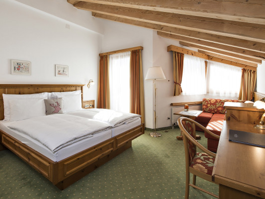 Chalet Silvretta Hotel & Spa Double room Muttler 0