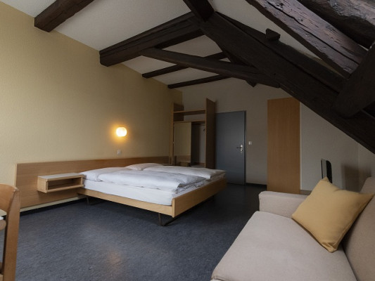 Gasthof Pizzeria Weingarten Double room or family room up to 4 people on the 2nd floor (without elevator) 2