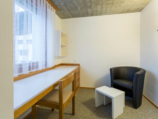 Kloster Ilanz - Haus der Begegnung Einzelzimmer Superior Dusche/WC 1