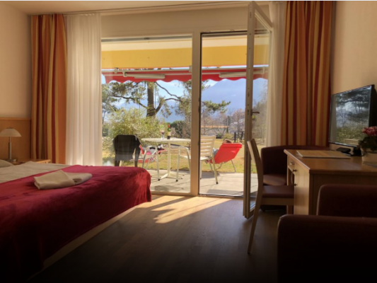 Parkhotel Emmaus - Casa del Sole*** Double room with view on the Park 2