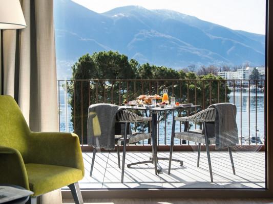 Hotel & Lounge LAGO MAGGIORE Exclusive Double Room 2