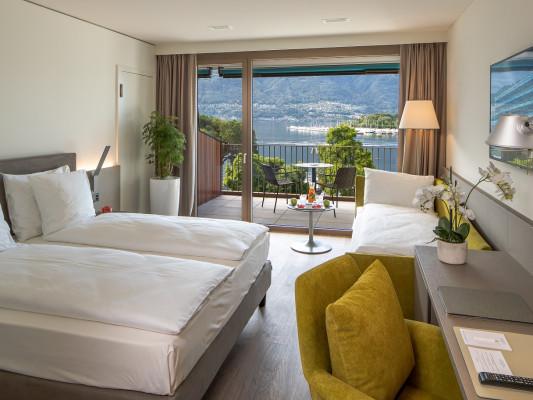 Hotel & Lounge LAGO MAGGIORE Exclusive Triple Room 1