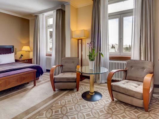 Grand Hotel des Bains Kempinski Deluxe Room 0