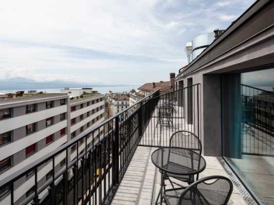 Hotel Lausanne by Fassbind Twin Superior 1