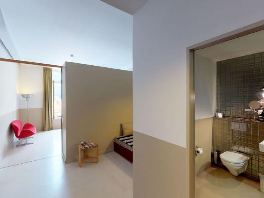 lofthotel Loftzimmer Hofseite 1