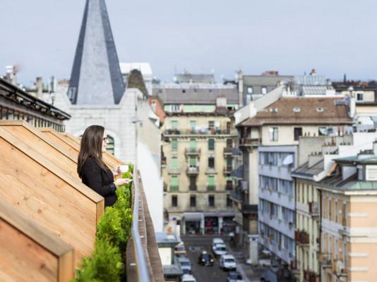 Novotel Genève Centre Hotel Camera Executive con 1 letto doppio per 2 adulti 1