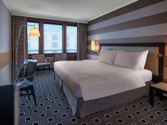 HILTON GENEVA HOTEL & CONFERENCE CENTRE KING GUEST ROOM 0