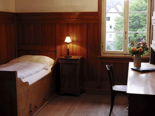 Kloster Dornach Single Room with shared bath on the floor 0