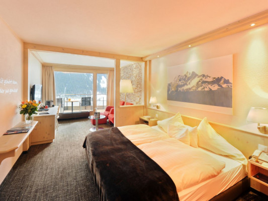 Eiger Selfness Hotel Double room Lifestyle Comfort 0