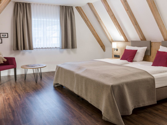 Hotel & Restaurant Lamm Double room Grosser Odenwald 1