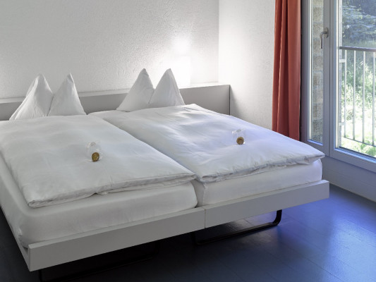 Schloss Münchenwiler Double room Gästehaus 0
