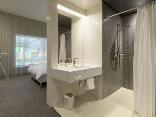 Trafo Hotel Single room Style 2