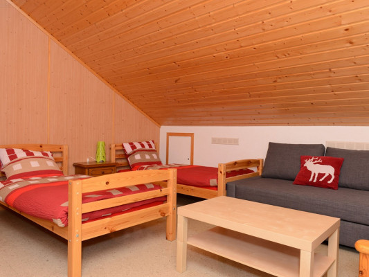 Maison de Montagne de Bretaye Double room with single beds 0
