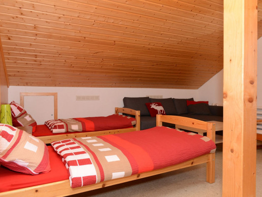 Maison de Montagne de Bretaye Double room with single beds 1