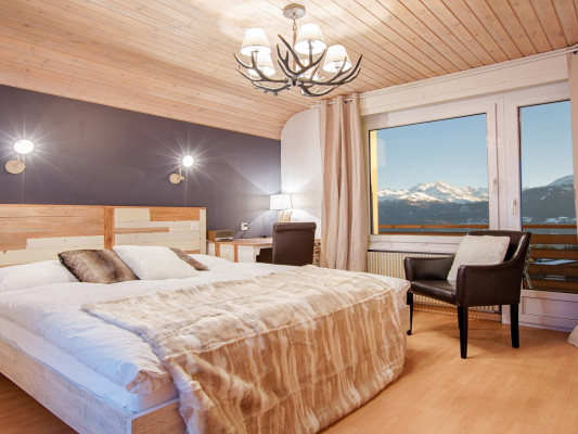 Hotel du Lac Double room south with balcony 0