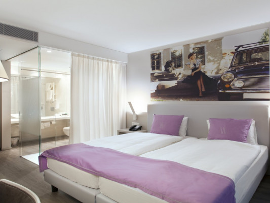 Hotel City Lugano Double room Style 2