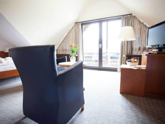 PP-Hotel Grefrather Hof Apartment 0