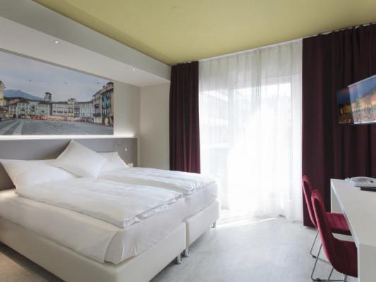 Hotel City Locarno Camera doppia Modern 0