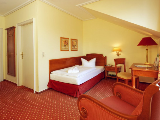 Parkhotel Am Glienberg Single room 2