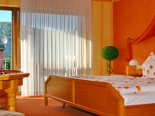 Hotel Restaurant Moselblick Double room balcony/terrace 0
