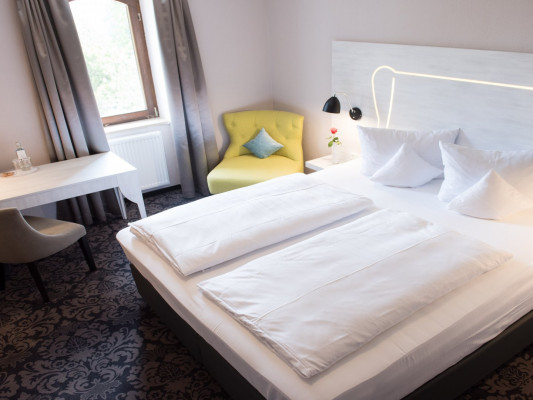 Parkhotel Schillerhain Double room Zweisamkeit 0