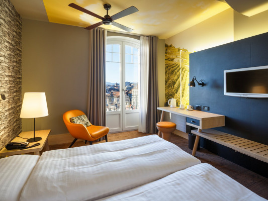 Swiss Wine by Fassbind Superior double room 1