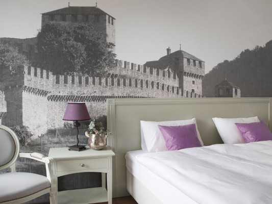 Boutique & Business Hotel La Tureta Bellinzona Room Double Style 0