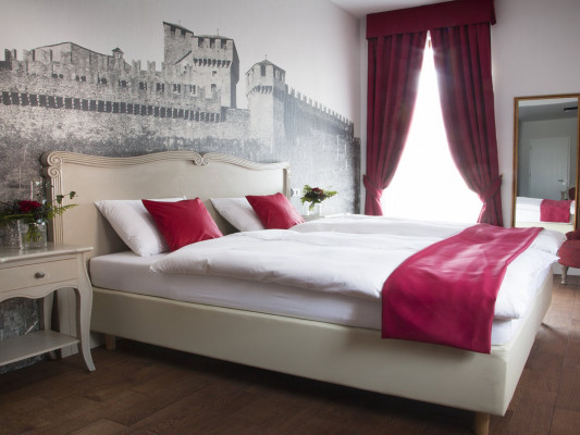 Boutique & Business Hotel La Tureta Bellinzona Double Room Comfort 0