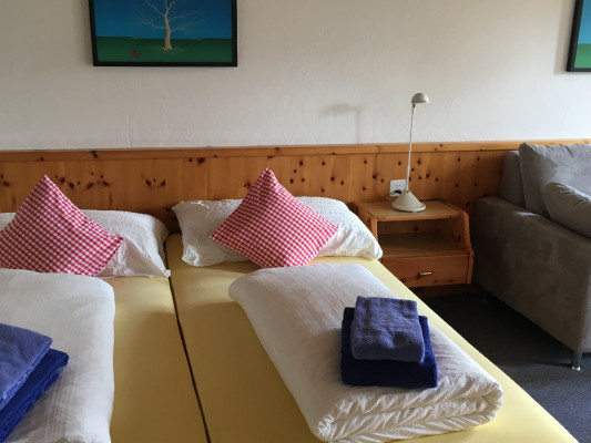 Hotel Engiadina Double room with terrace 2