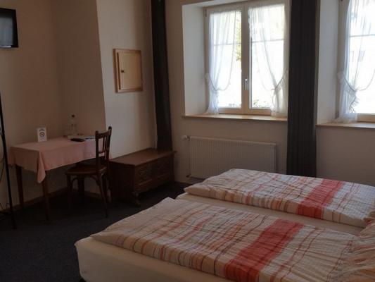 Hôtel de la Couronne Double room 1