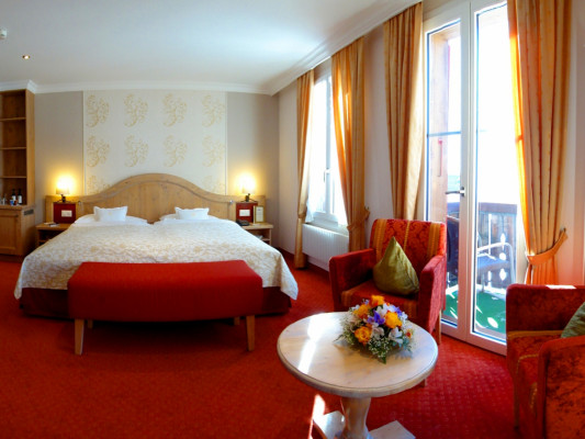 Romantik Hotel Schweizerhof / Swiss Alp Resort & SPA Double room Superior 0