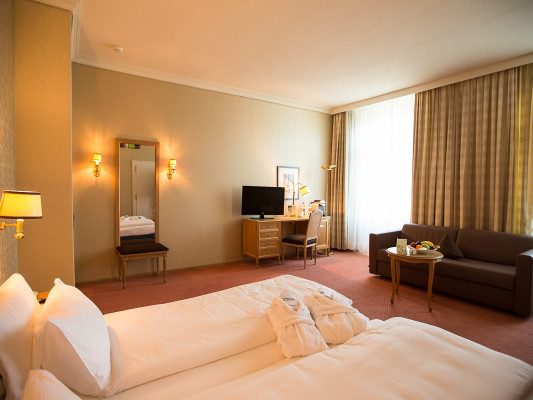 Lindner Grand Hotel Beau Rivage Double room First Class 0